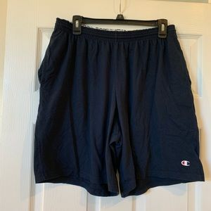 NWOT Men's Champion navy blue shorts